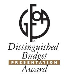GFOA Distinguished Budget Presentation Award Logo